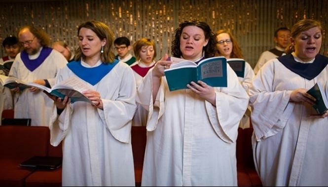 The Choir at First Church Boston