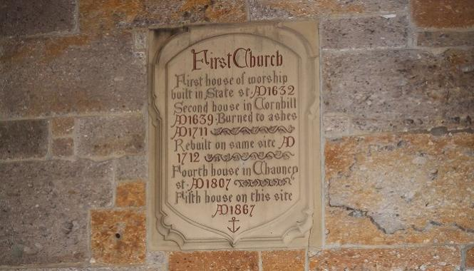 First Church of Boston - History