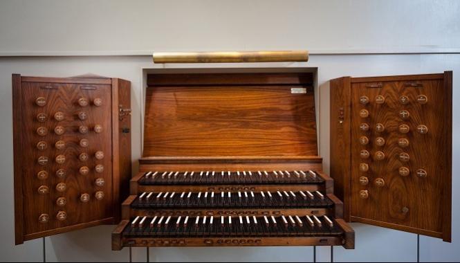 Instruments at First Church Boston