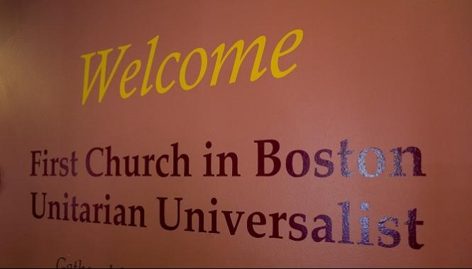 Newcomers at First Church Boston